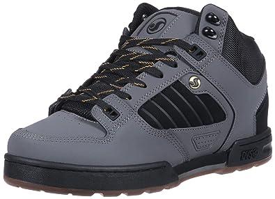 83370faae6b8 DVS Men s Militia Boot Skate Shoe Gargoyle Black Gold Nubuck Ettala 7.5  Medium US