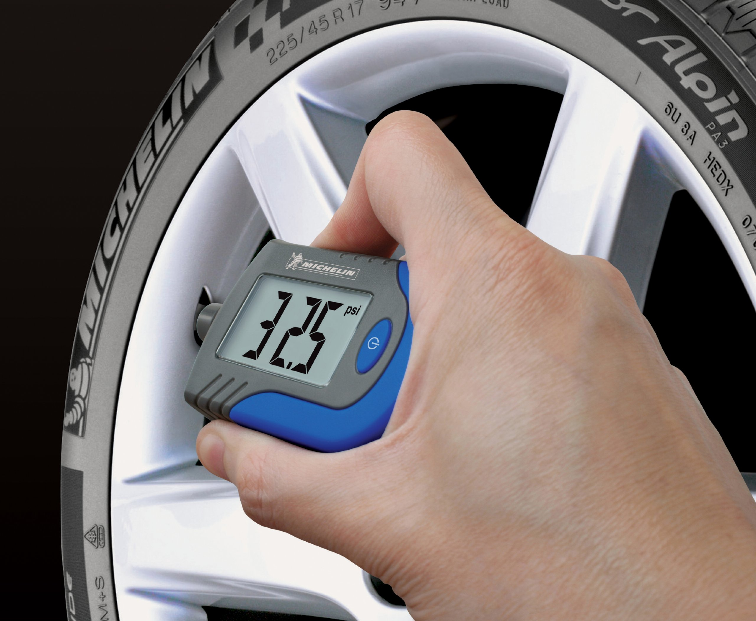 MICHELIN MN-4203B Digital Tire Gauge with Tread Depth Indicator by MICHELIN (Image #2)