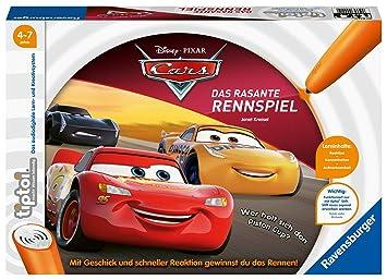 Ravensburger 00021 Disney Cars-Das rasante Rennspiel - Juego de ...