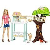 Barbie Quiero Ser Veterinaria, muñeca con su granja y accesorios (Mattel FCP78)
