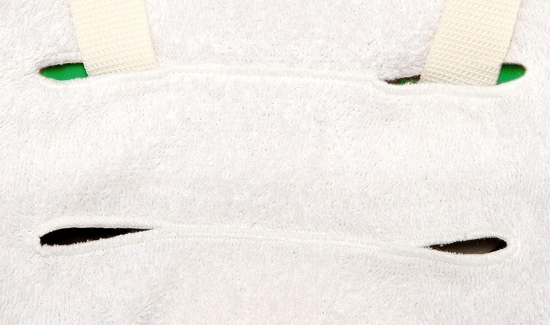 Verde BRUCHINO ITALY/® Funda para trona Chicco Polly 100/% algodon Made in Italy