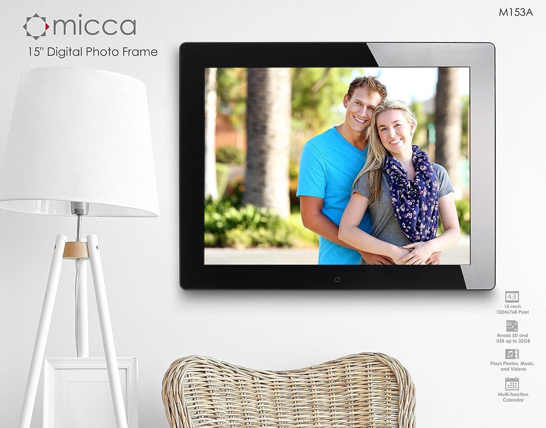 Amazon.com : Micca 15-Inch Natural View Digital Photo Frame M153A ...