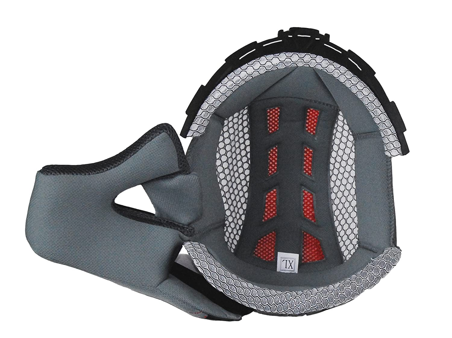Vega Flyte Off-Road Helmet Liner (Gray, Large) 94-3204