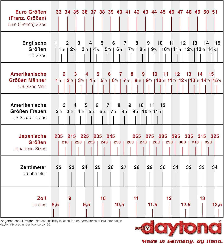 Daytona AC Classics GTX Motorradstiefel Schwarz 44