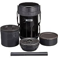 Zojirushi Classic Stainless Lunch Jar, 49 oz, Black