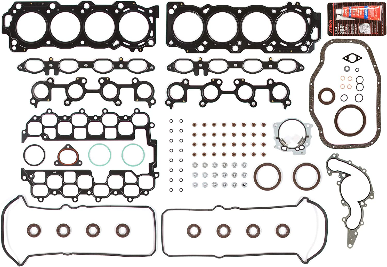 Evergreen FS22054 Full Gasket Set Fit 01-09 Lexus GS430 LS430 SC430 4.3 DOHC 32V 3UZFE