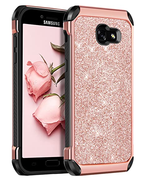 BENTOBEN Funda Samsung Galaxy A5 2017, Carcasa Samsung A5 2017, Cover Case Brillante Ultra Delgada Combinada PC + TPU Anti-Arañazos Protectora Funda ...