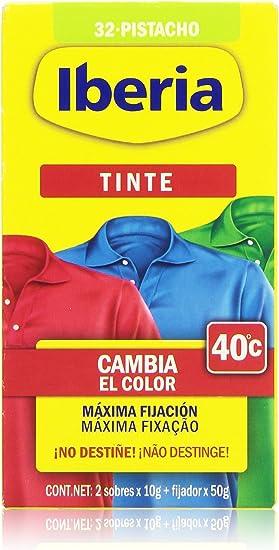 Iberia - Tinte N 32 pistacho, cambia el color 40-2 sobres x ...