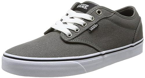 Amazon.com | Vans Mens VANS ATWOOD (CANVAS) SKATE SHOES 10.5 (CHARCOAL) | Skateboarding