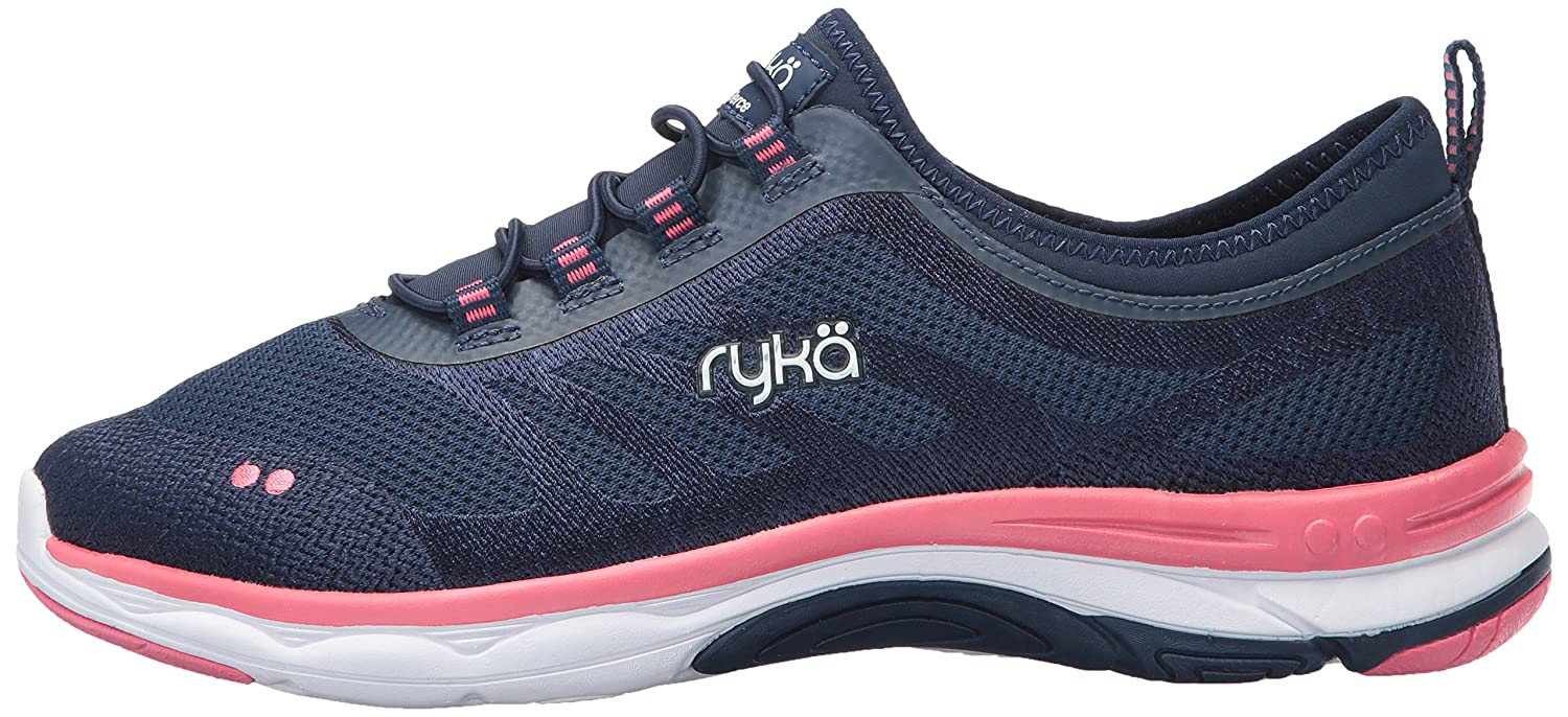 Ryka Shoe Women's Fierce Walking Shoe Ryka B01KWDULNU 5 B(M) US|Navy/Coral 7ef5ee