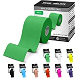SB SOX Kinesiology Tape (16ft Uncut Roll) – Best Latex Free, Water Resistant Tape for Muscles/Joints – Perfect for Any Activi