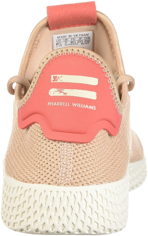 adidas Women's Pw Tennis Hu W B071VSBVFR 6 D(M) US|Ash Pearl/Ash Pearl/Linen