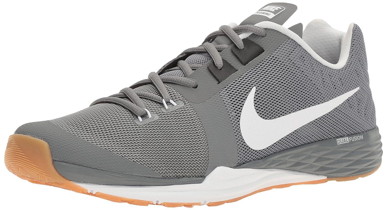 NIKE Men's Train Prime Iron DF Cross Trainer Shoes B01FZ31HQW 11.5 D(M) US|Cool Grey/White/Black/Pure Platinum