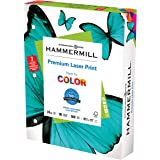 Hammermill Printer Paper, Premium Laser Print 24 lb, 3 Hole - 10 Ream (5,000 Sheets) - 98 Bright, Made in the USA, 107681C