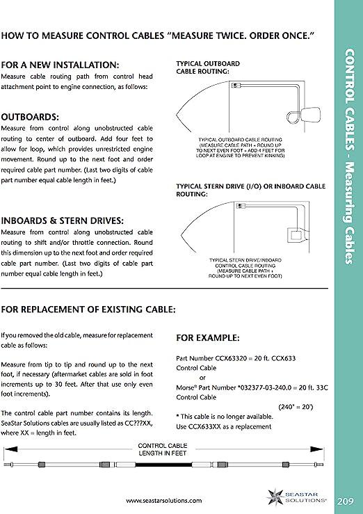 TELEFLEX UNIVERSAL  13 FT  CONTROL CABLE 3300 EXTREME PART # CC 63313