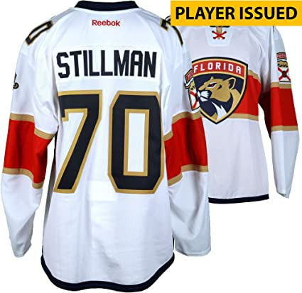 0e4a8d856 ... discount riley stillman florida panthers player issued 70 white jersey  from the 2016 17 2dc4c b7f71