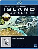 Island 63° 66° N - Island von oben [Blu-ray]