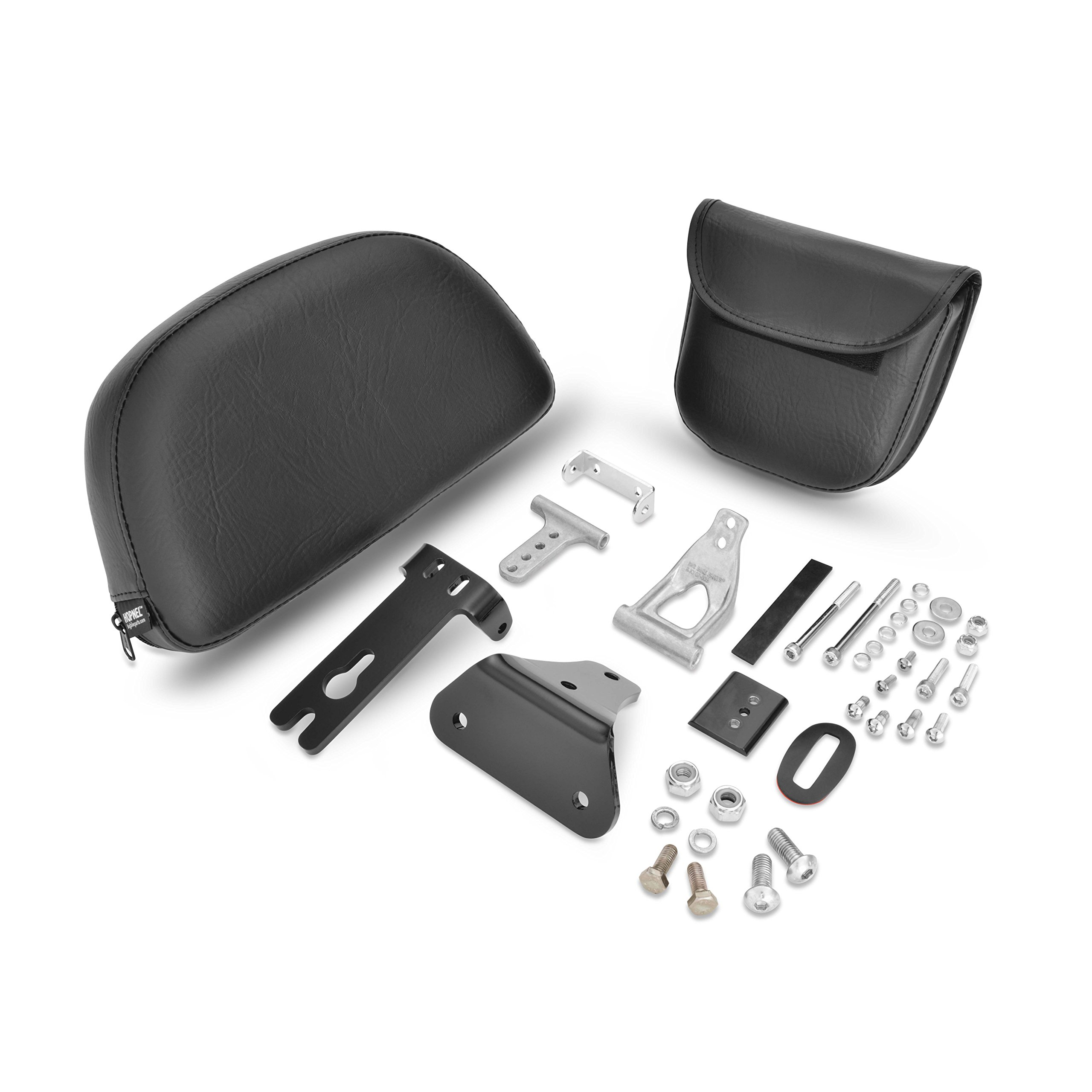 Show Chrome Accessories 30-108 Smart Mount Removable Backrest Victory,1 Pack