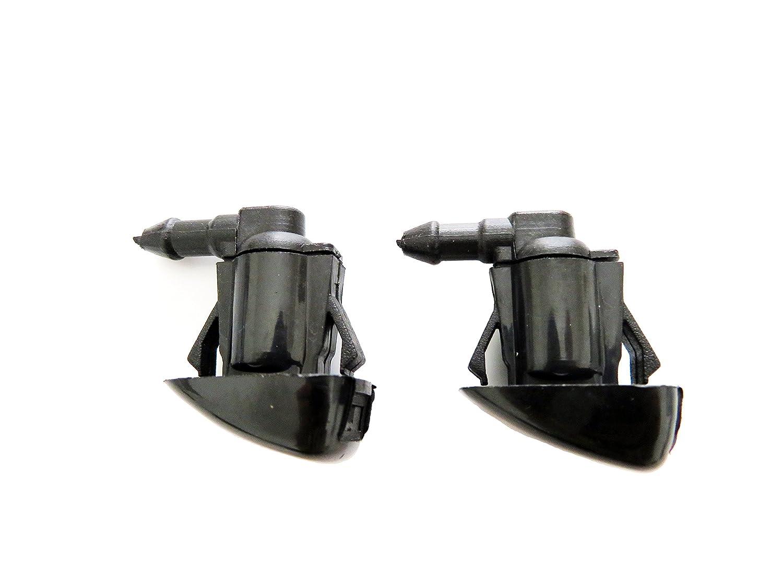 2pcs Windshield Washer Nozzle for 07-09 Aura, 05-10 Pontiac G6, 08-12 Malibu USA CARBEX