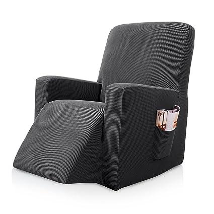 Amazon.com: Subrtex Stretch Recliner Chair Slipcover Furniture ...