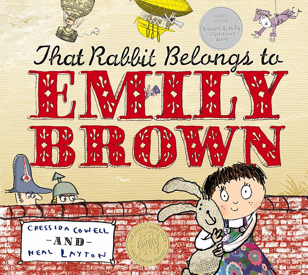 That Rabbit Belongs To Emily Brown: Amazon.co.uk: Cressida Cowell ...