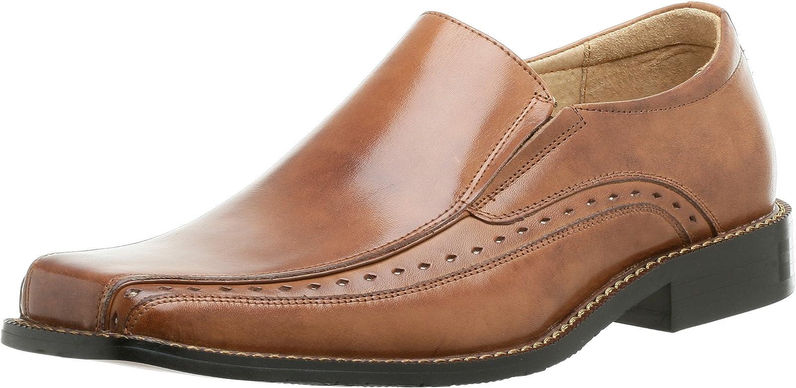 Stacy Adams Men's Danton Slip-on,Cognac