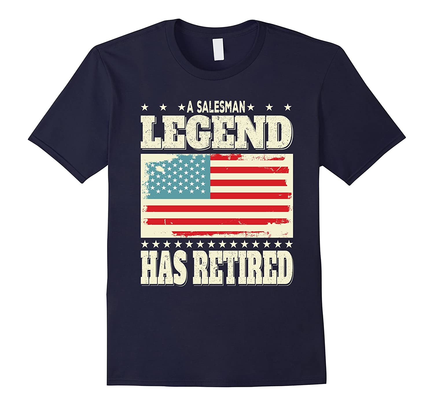 A Salesman Legend Has Retired Retirement Dad Grandpa Gift-PL