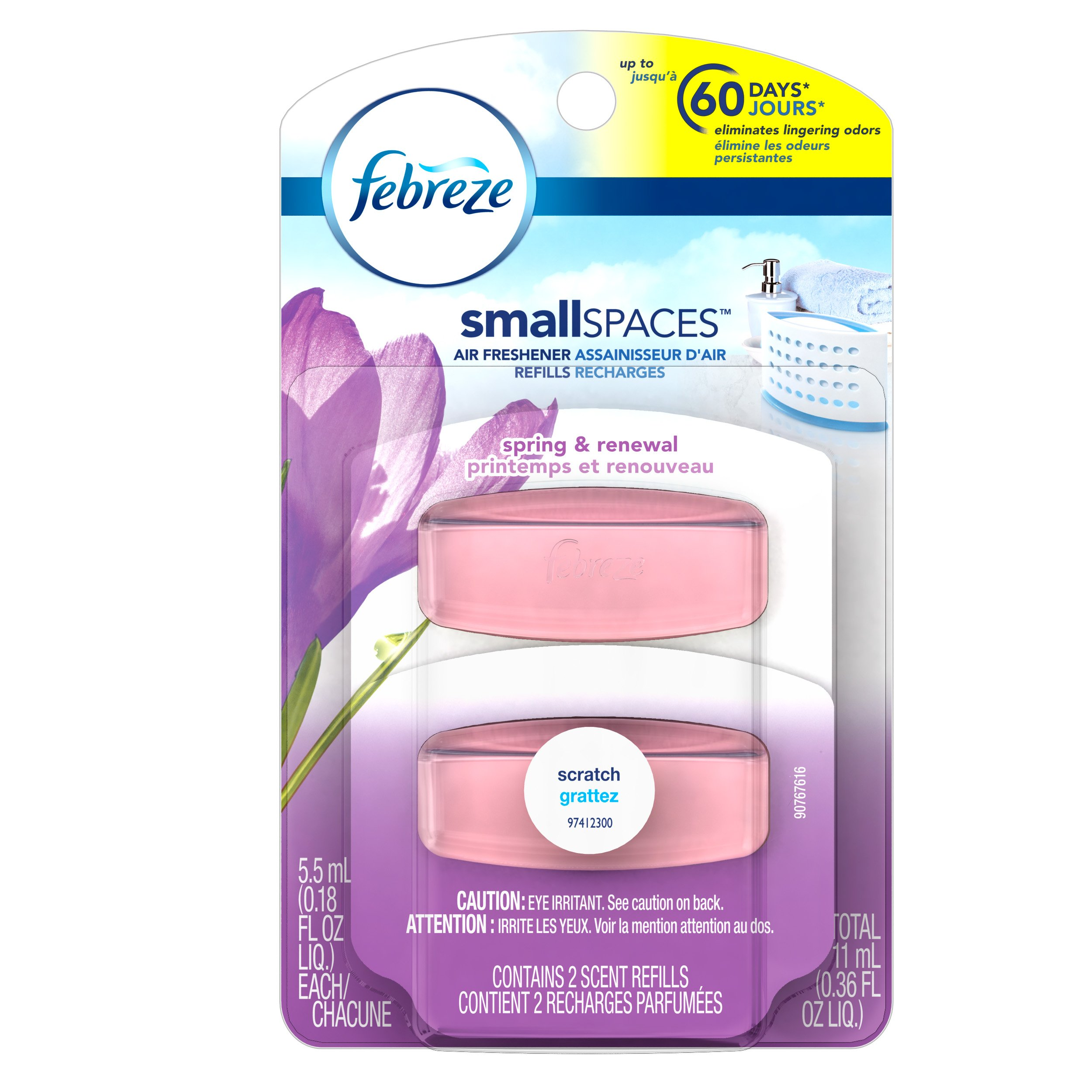 Amazon.com: Febreze SmallSpaces First Bloom Starter Kit Air ...