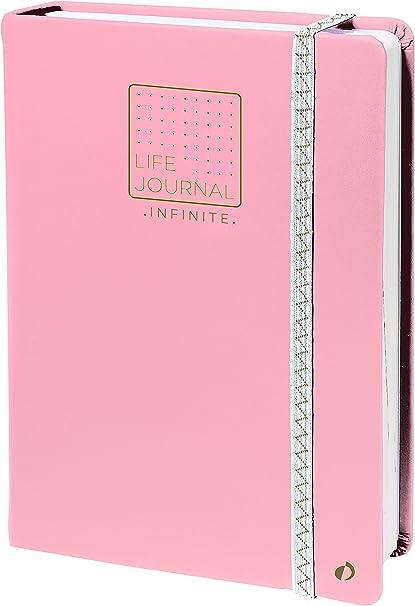 Quo Vadis 2371064Q - Life Journal INFINITE 15x21cm, Método Bullet Journal, Rosa;Life Journal Infinite: Amazon.es: Oficina y papelería