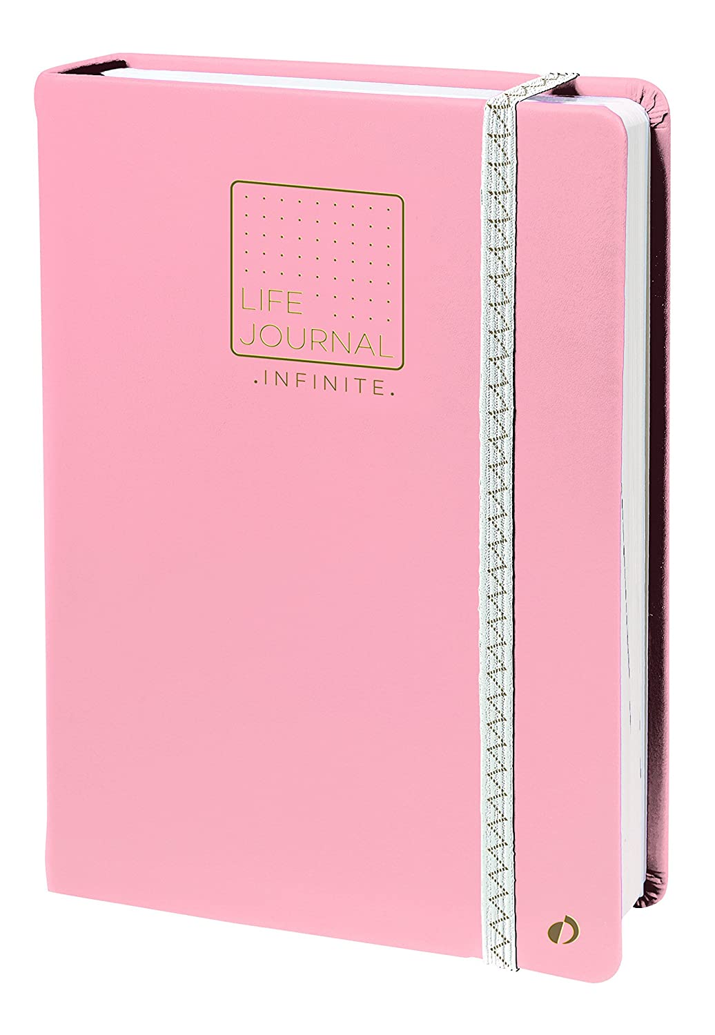 Quo Vadis 2371064Q - Life Journal INFINITE 15x21cm, Método Bullet Journal, Rosa;Life Journal Infinite