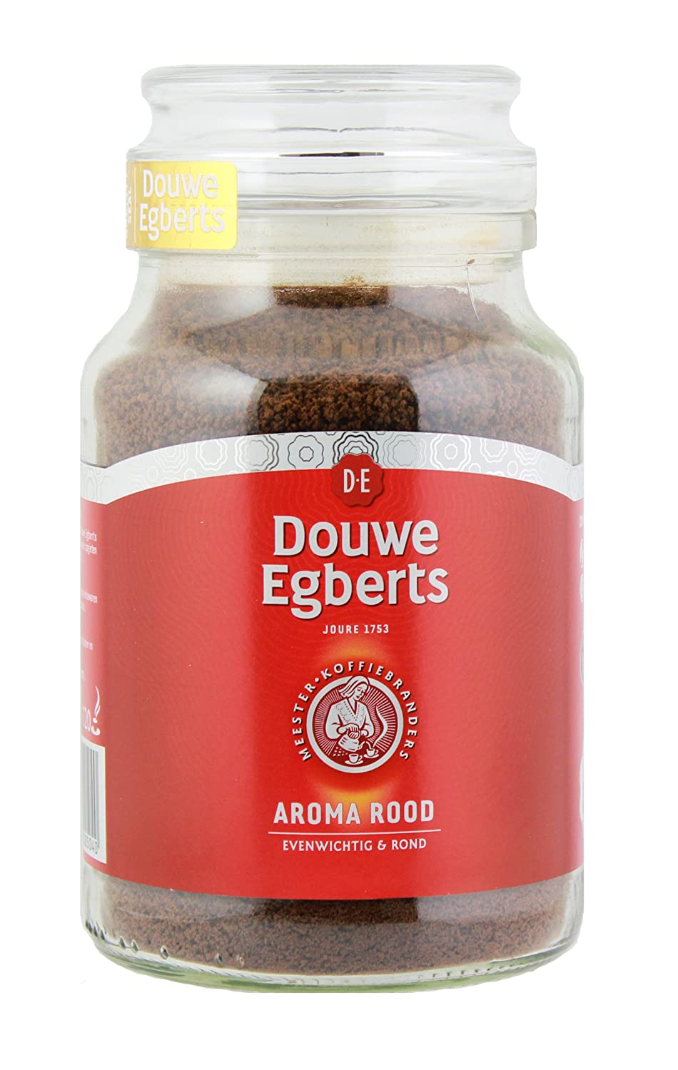 Douwe Egberts Aroma Rood Instant Coffee,200 gram Jars (Pack of 2)