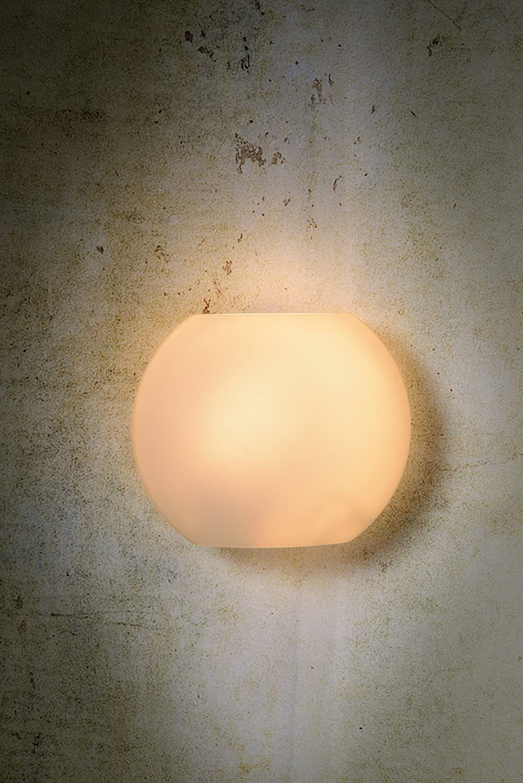 Opal /Ø 20 cm Lucide LAGAN Wall Light