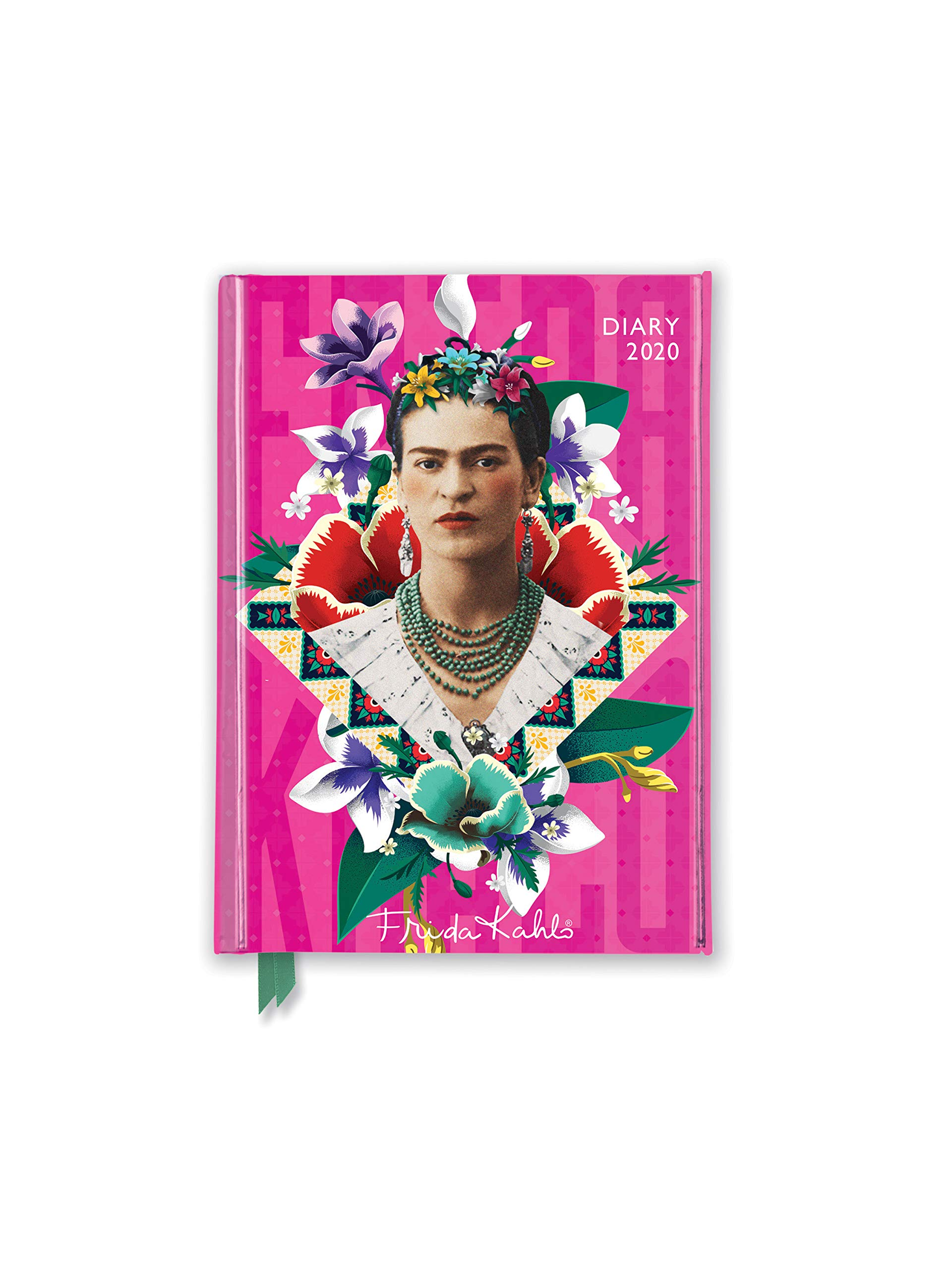 Frida Kahlo Pocket Diary 2020: Amazon.es: Flame Tree Studio ...