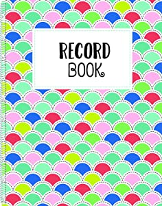 Creative Teaching Press Record Book, CTP 8652
