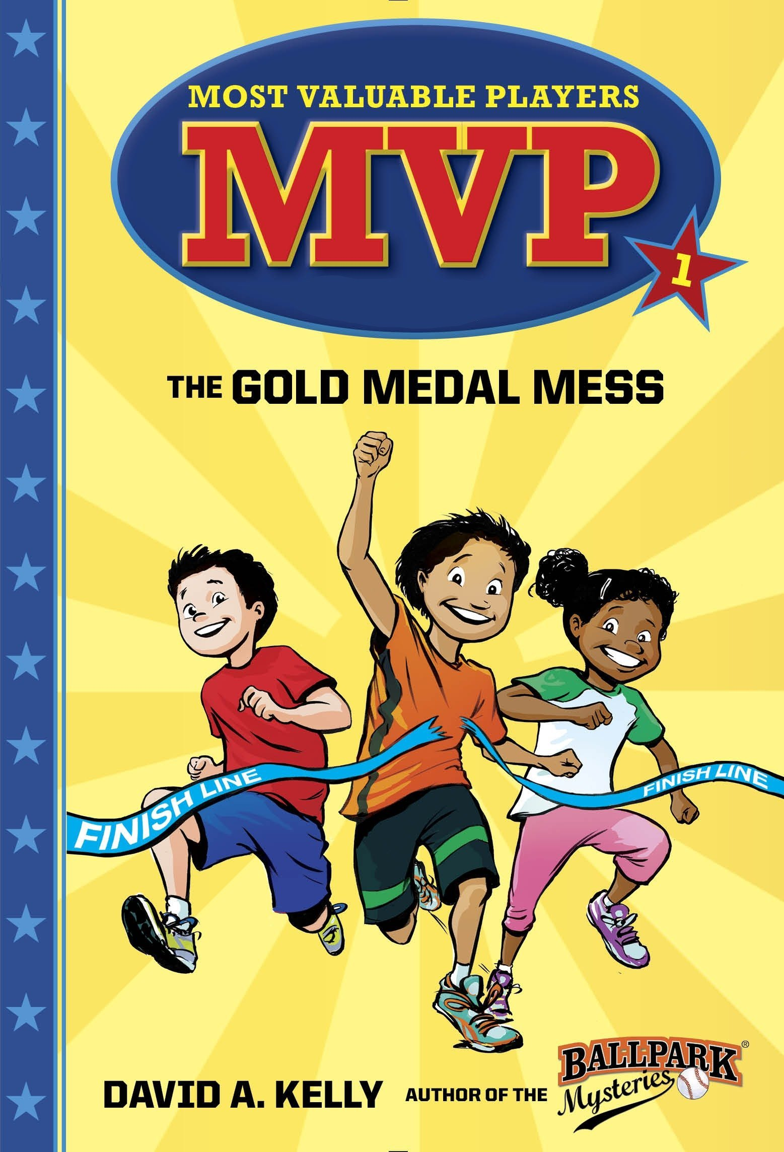 MVP 1 The Gold Medal Mess Most Valuable Players David A Kelly Scott Brundage 9780553513196 Amazon Books