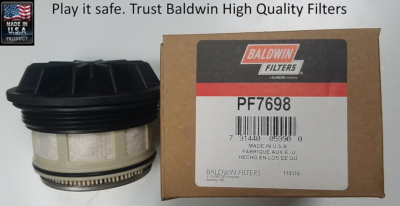 Baldwin Pf7698 Heavy Duty Diesel Fuel Element Automotive 1996 F250 Filter