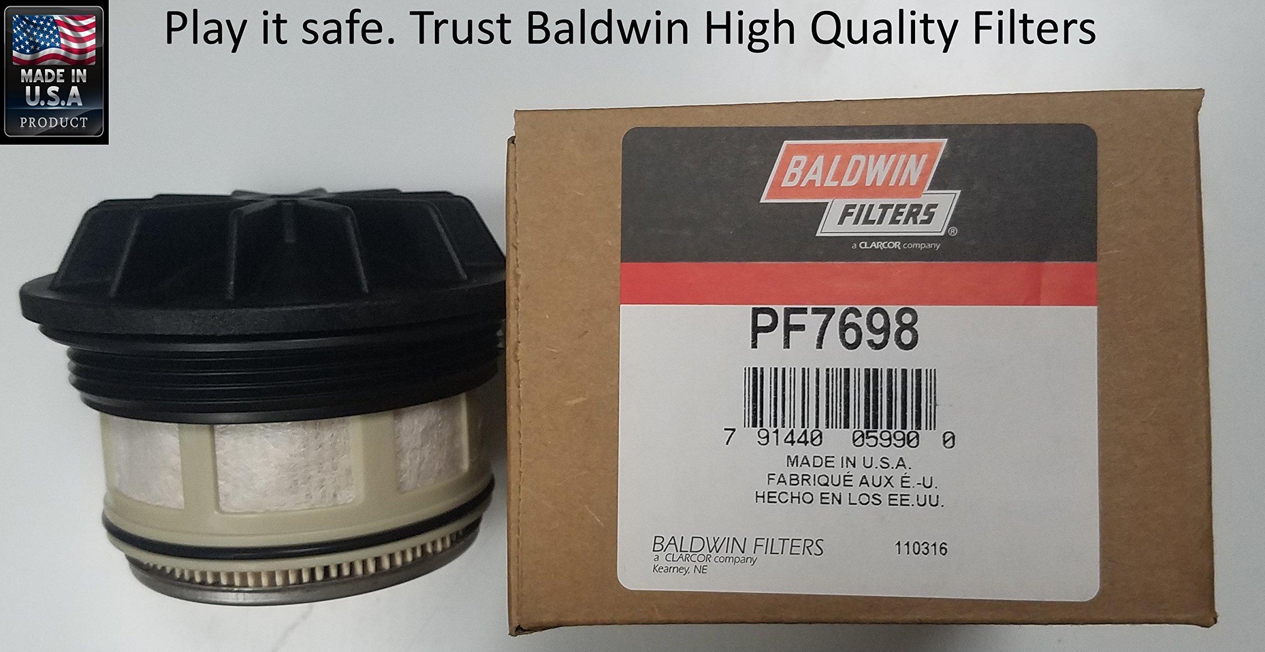 Baldwin PF7698 Heavy Duty Diesel Fuel Element (Pack of 6) by Baldwin