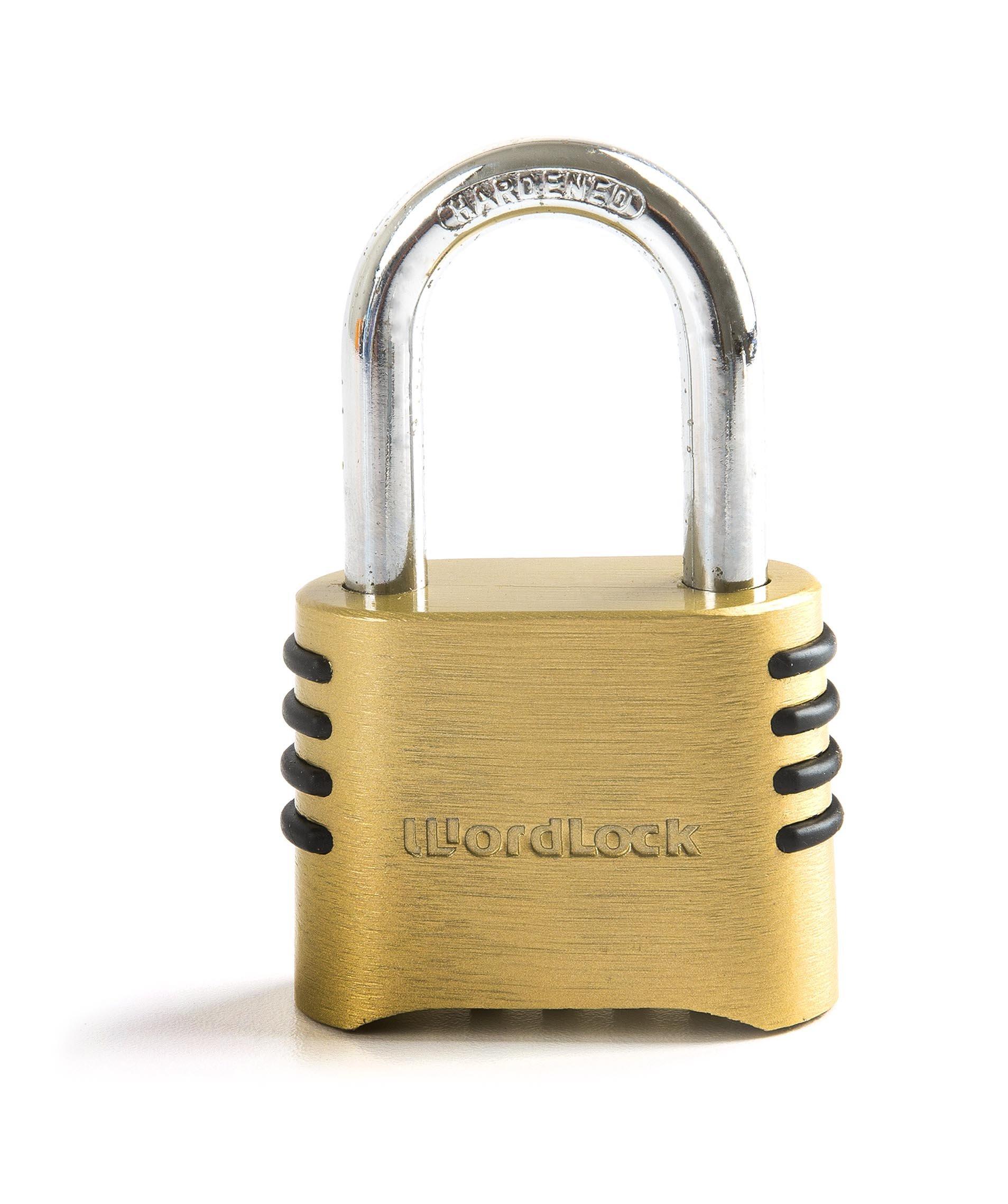 Wordlock Utility Combination Padlock – 4 Dial