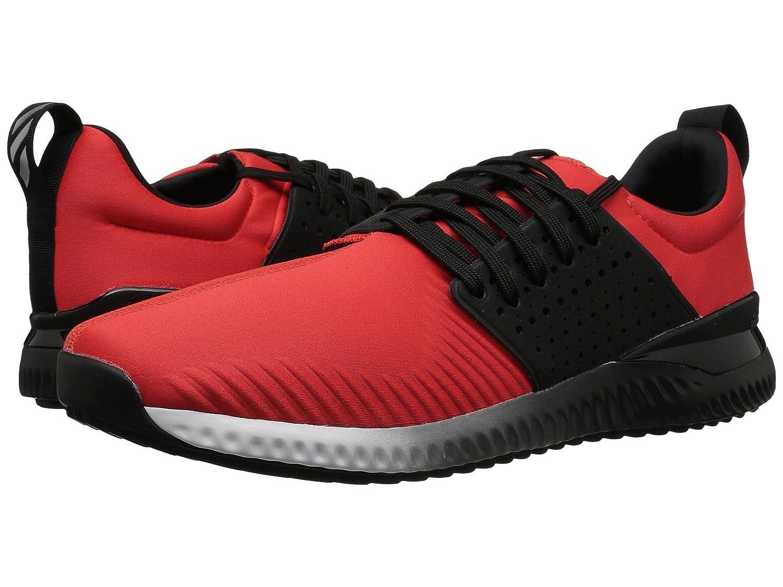 アディダス シューズ スニーカー Adicross Bounce Hi-Res Red [並行輸入品] B079HVT2Z6