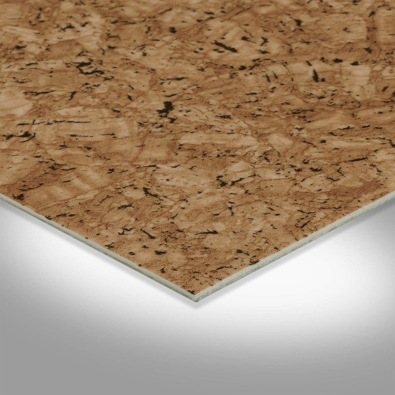 400 cm breit Holzoptik Korkoptik BODENMEISTER BM70618 Vinylboden PVC Bodenbelag Meterware 200//300