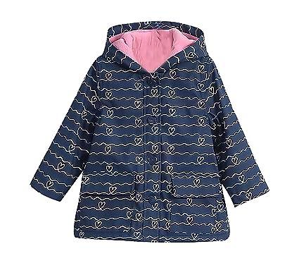 Amazon.com: Sweety Girls Fleece Lined Windbreaker Coat