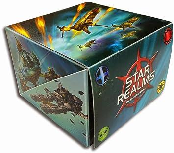 Legion Supplies STR981 Star Realms Flip - Caja de baraja de Cartas (versión en inglés)
