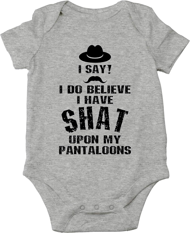 CBTWear I Do Believe I Have Shat Upon My Pantaloons Funny Cute Novelty Infant One-Piece Baby Bodysuit