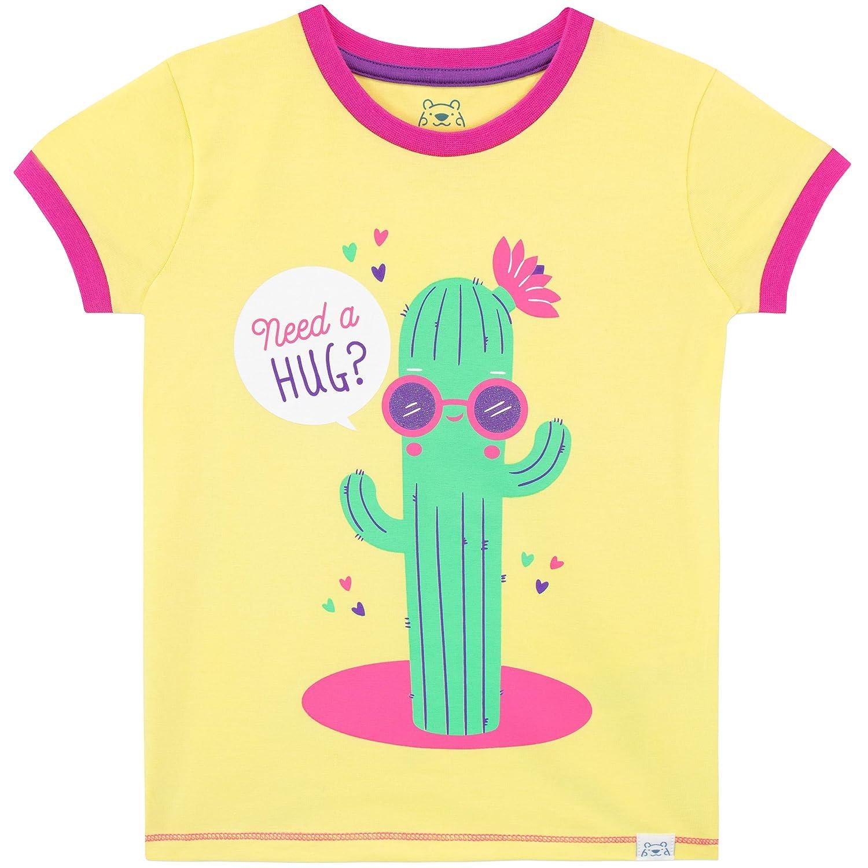 Harry Bear Pigiama Corto per Ragazze Cactus