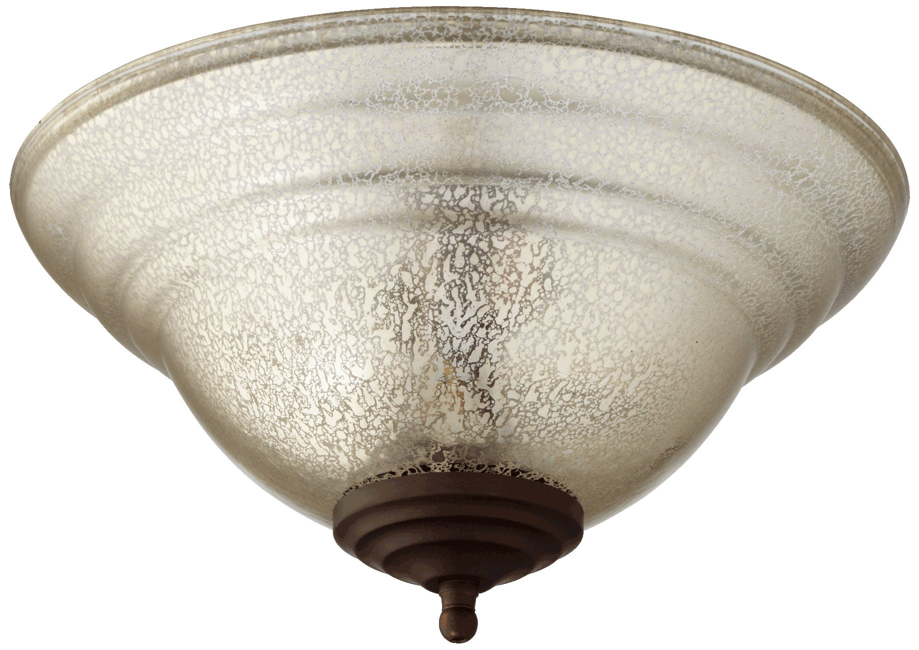 Quorum International 1147-801 Silver Mercury Light Kit, Satin Nickel/Oiled Bronze by Quorum International