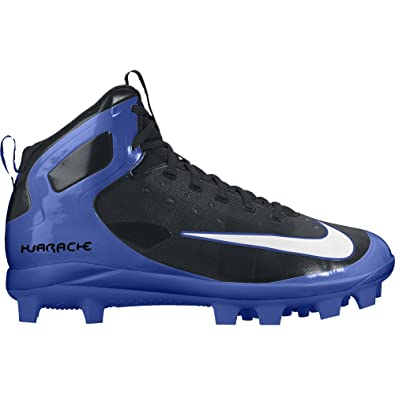 5c362c8d94082 Nike Boy s Alpha Huarache Pro Mid MCS (BG) Baseball Cleat Black White
