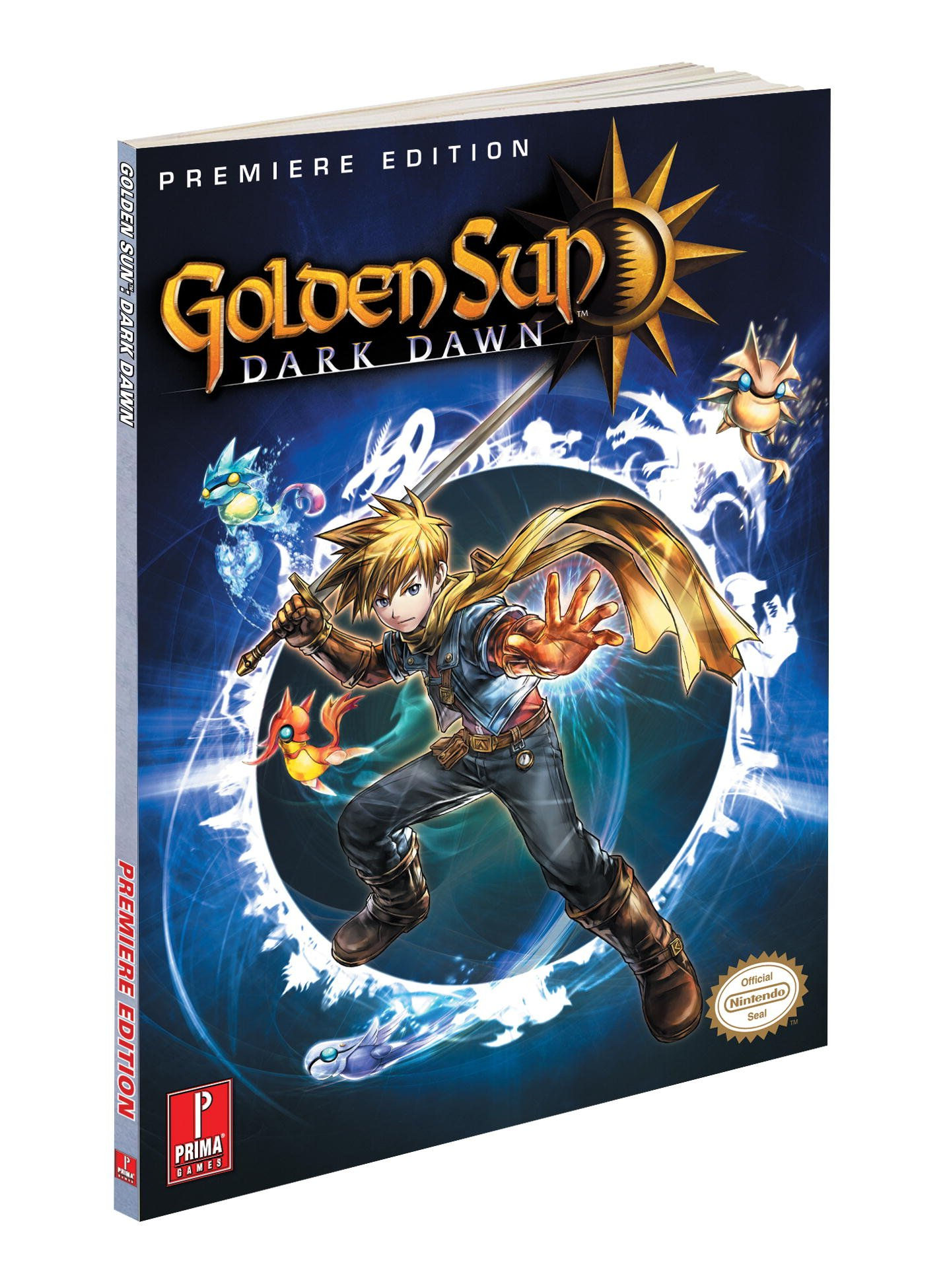 Golden Sun Dark Dawn Prima Official Game Guide Stratton