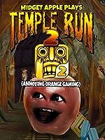 Clip: Midget Apple Plays - Temple Run 2 (Annoying Orange Gaming)
