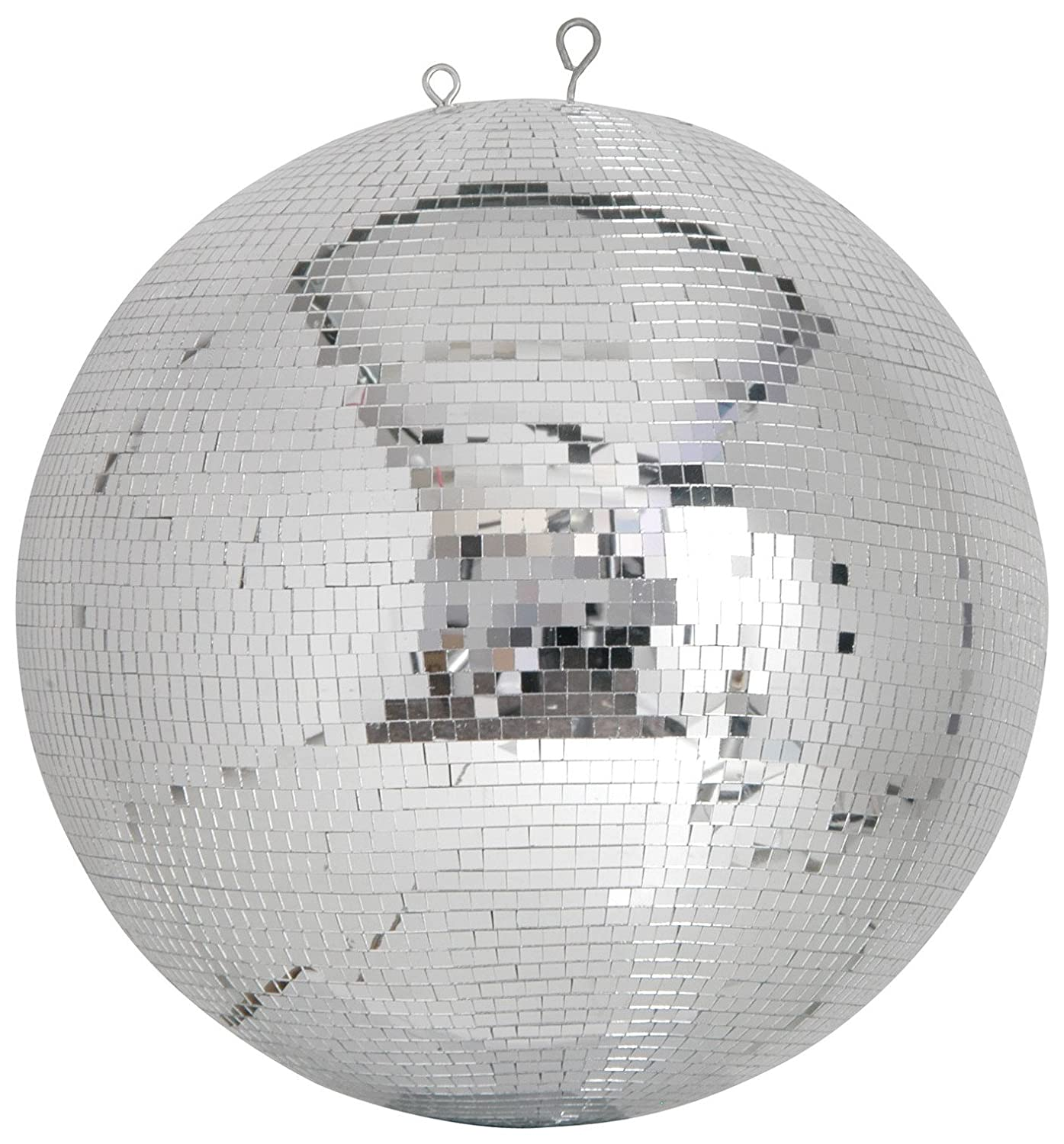 Professional Mirror Ball | 7mm x 7mm tiles | 40cmØ qtx 151.413UK qtx  Professional Mirrorball 40cmØ - creates the best effects when hung from a height