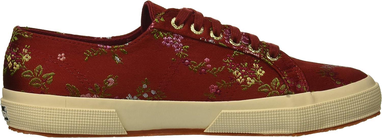 Superga Womens Satinjacquardflowerw Sneaker